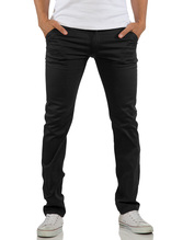 ReRock Chino Hose Commerce - Schwarz