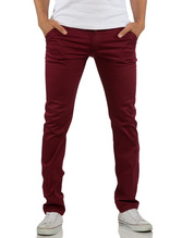 ReRock Chino Hose Commerce - Rot