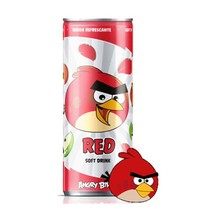 ANGRY BIRDS Tropic Soft Drink RED 250 ml Österreich