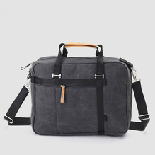 Qwstion Office Tote washed Black